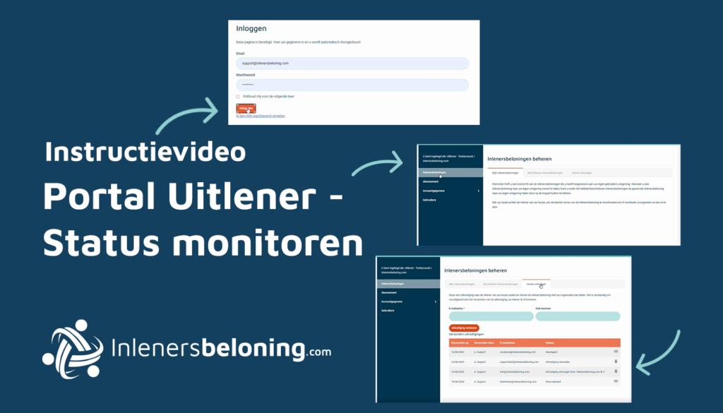 Portal uitlener - status monitoren